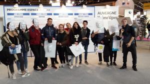 Les élèves de DP 3 au mondial des métiers le 05fév2016