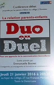 affiche duo duel